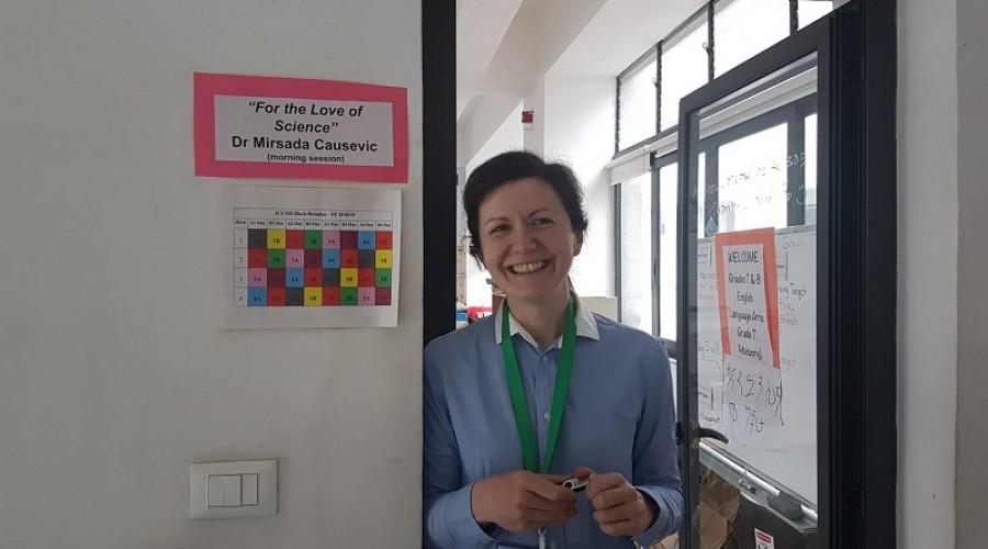 Assistant Professor Mirsada Causevic, Honours BSc, PhD, held a talk